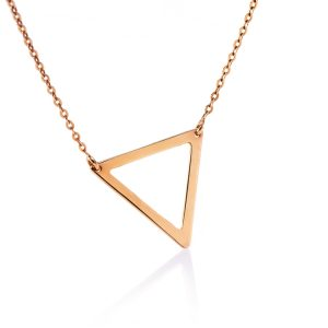 The Way necklace, Triangle - medium