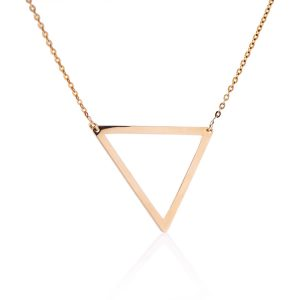 The Way necklace, Triangle - large